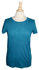 J.Crew T Shirt Teal Blue