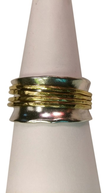 Item - Sterling Silver/Gold Spinner Ring