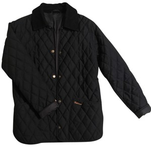 Barbour Quilted Navy Jacket