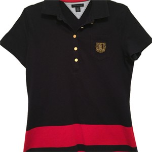 Tommy Hilfiger Top Navy blue and red