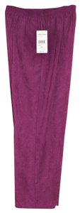Studio Works Straight Pants Purple