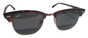 Ray-Ban AUTHENTIC RayBan RB 3016 CLUBMASTER W0366 51-21 3N SUNGLASSES