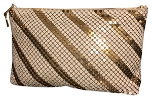 Other Gold White Clutch