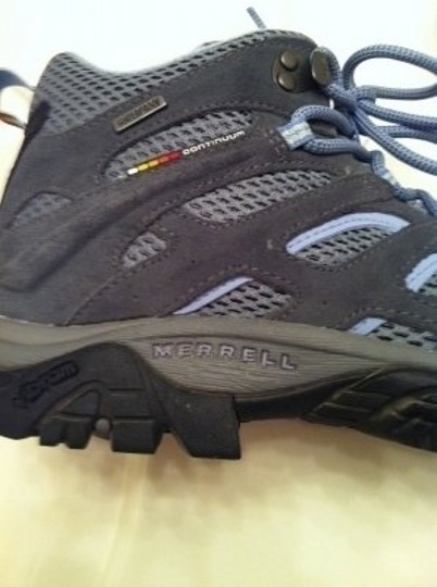 Merrell Moab Mid/Castle Rock Gray and Blue Athletic