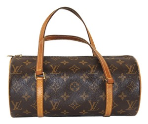 Louis Vuitton Canvas Papillon Lv Monogram Baguette