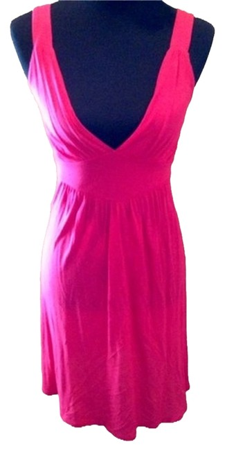 Preload https://item2.tradesy.com/images/wet-seal-pink-mid-length-short-casual-dress-size-8-m-2039106-0-0.jpg?width=400&height=650