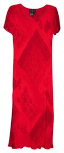 Red Maxi Dress by Carole Little