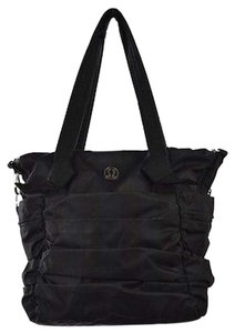 Lululemon Black Nylon Tote in Multi-Color