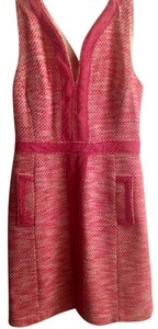 Milly of New York Classic Elegant Mad Med Pink Feminine Dress