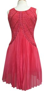 Other short dress Coral Tropical Wear Sleeveless Party on Tradesy