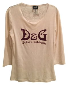 Dolce&Gabbana Top Cream