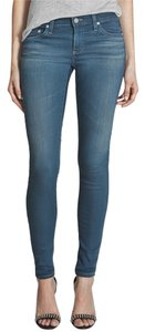 AG Adriano Goldschmied Skinny Stretchy Mineral Wash Skinny Jeans-Medium Wash