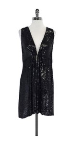 Joseph short dress Black Yasmine Sequined on Tradesy