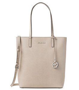 Michael Kors Michael Hayley Large Top-zip North/south Tote in Cement
