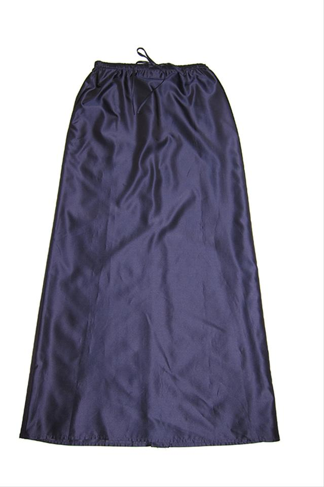 Anne Klein Navy Blue Taffeta Ball Gown Maxi Skirt Size 6 (S, 28 ...