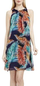 Vince Camuto short dress Blue Multi on Tradesy