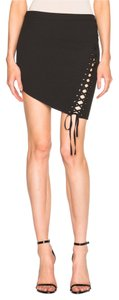 Mason by Michelle Mason Mini Skirt Black