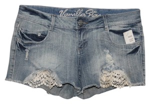 Vanilla Star Mini/Short Shorts Denim Blue