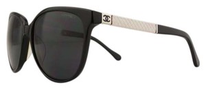 Chanel Chanel 5225Q Quilted Lambskin Leather Cat Eye Sunglasses