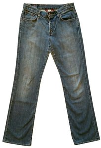 Lucky Brand Easy Rider Straight Leg Jeans-Medium Wash