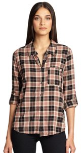 Joie Button Down Shirt Plaid