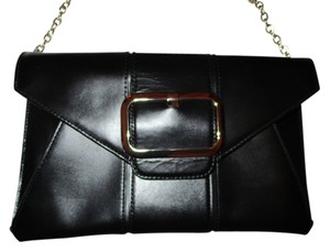 Banana Republic Leather Cow Leather black Clutch