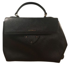 Coccinelle Satchel in black