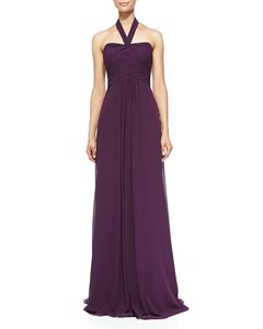 Monique Lhuillier Navy Monique Lhuillier Bridesmaid 450021l Dress
