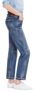 Madewell Chimala Distressed Japanese Relaxed Fit Jeans-Distressed