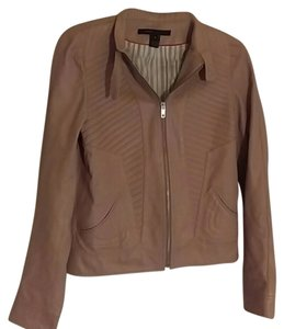 Marc Jacobs Leather Nude Leather Jacket