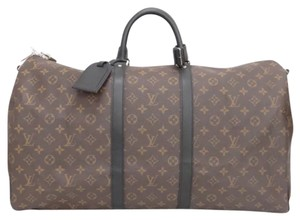 Louis Vuitton black, brown Travel Bag