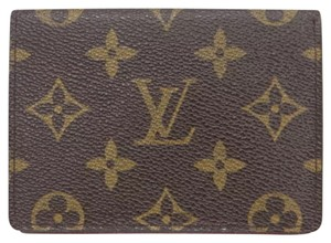 Louis Vuitton Id monogram card case bifold holder