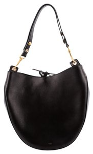 Céline Celine Leather Hobo Bag