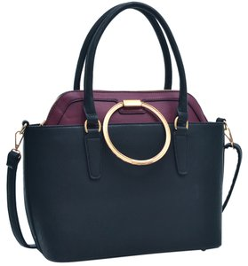 Other Classic Large Handbags Vintage The Treasured Hippie Tote in Black/Wine