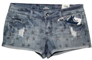 YMI Jeans Mini/Short Shorts Distressed Denim