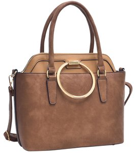 Other Classic Large Handbags Vintage The Treasured Hippie Tote in Brown/Tan