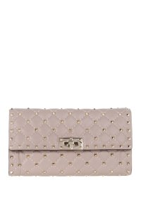 Valentino Rockstud Powder Clutch