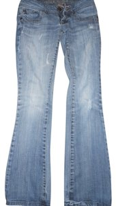 Refuge Jeans Distressed Boot Cut Jeans-Distressed