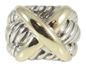 David Yurman David Yurman Triple Row X Ring