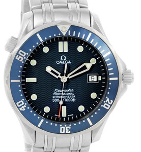 Omega Omega Seamaster 300M Bond Blue Wave Dial Automatic Watch 2531.80.00