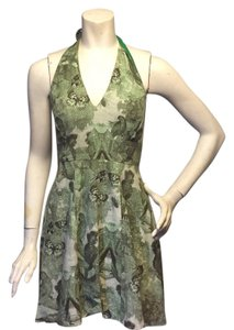 Eva Franco short dress green on Tradesy