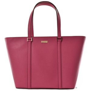 Kate Spade Saffiano Leather Newbury Lane Dally Tote in Sweetheart Pink