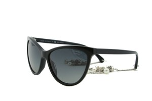 Chanel New CHANEL 5341H Chain Fantasy Pearl Earings Black Cat Eye Sunglasses