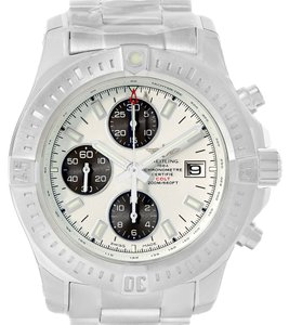 Breitling Breitling Colt Automatic Chronograph White Dial Watch A13388 Unworn