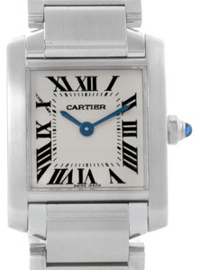 Cartier Cartier Tank Francaise Small Ladies Silver Dial Watch W51008Q3