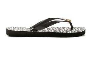 Tory Burch Flipflops Sandals Slip Ons Black Flats