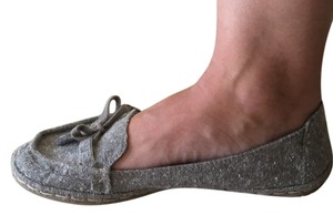 Rocket Dog light gray tweed Flats