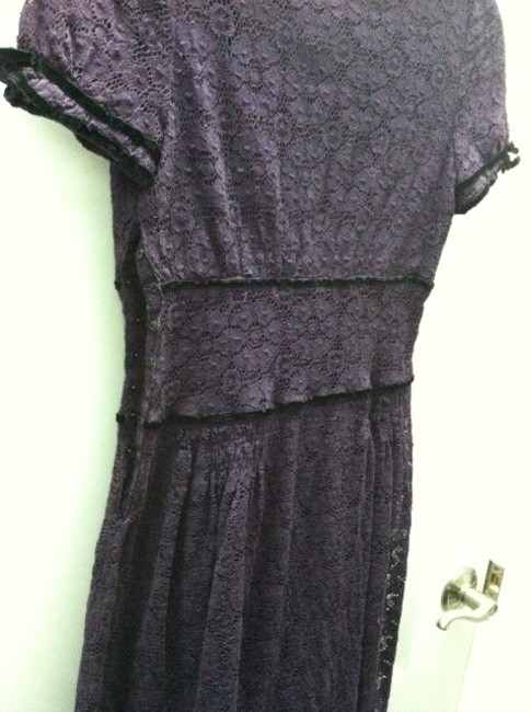 Jill Stuart short dress dark purple on Tradesy