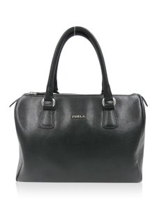 Furla Leather Satchel in Black