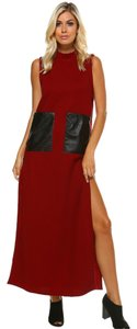 Burgundy Maxi Dress by TOV Holy